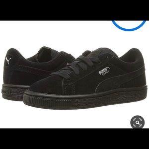 Puma Black suede shoes